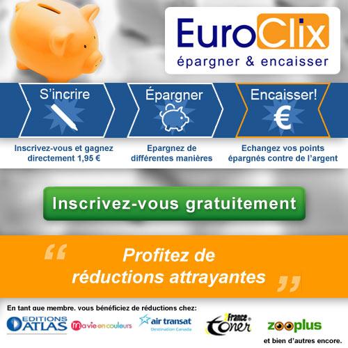 Epargner de l'argent chez EuroClix